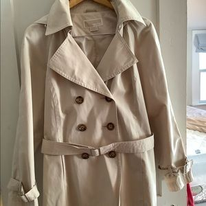 Michael by Michael Kors short trench coat